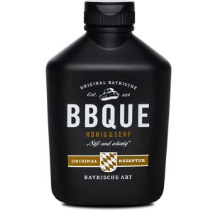 BBQUE Barbecue Sauce Honig und Senf