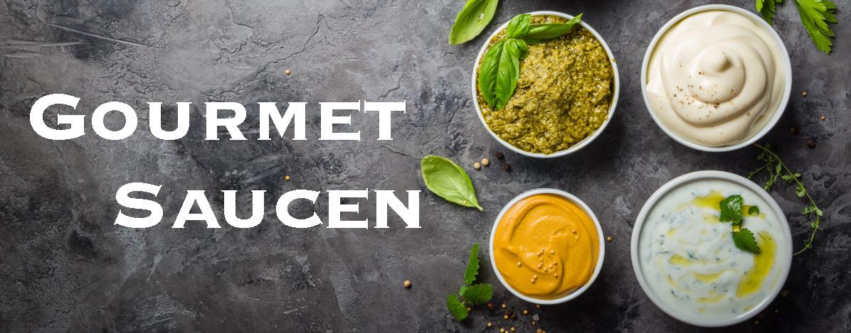 Auswahl an Gourmet Saucen entdecken bei Saucenheld