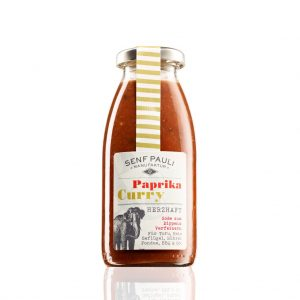 Senf Pauli Paprika & Curry Sauce entdecken bei Saucenheld